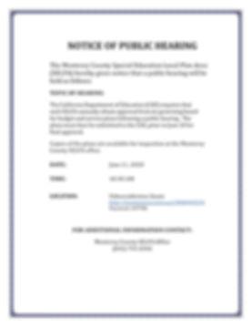 NOTICE OF PUBLIC HEARING, ABP-ASP 2020.j