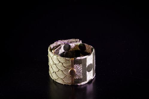 Bracelet CLIPS MERMAID Kaki