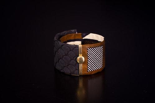 Bracelet CLIPS MERMAID noir