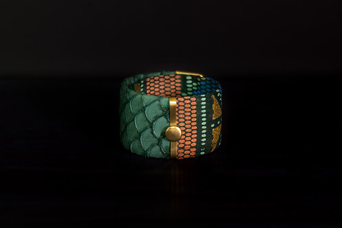 Bracelet CLIP MERMAID Green