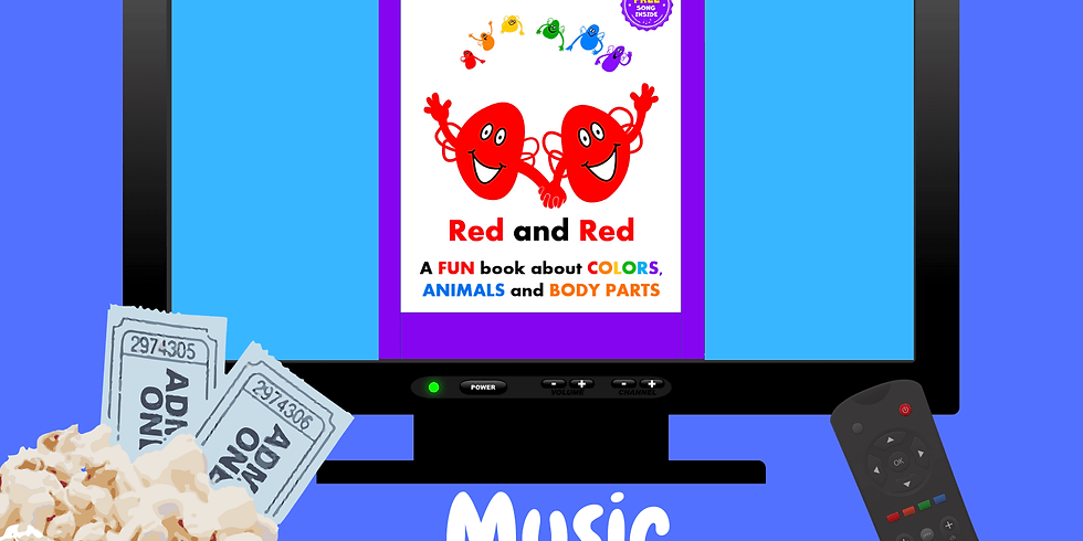 RED AND RED Activity Songs Book Party #7