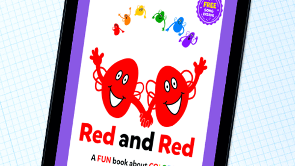 RED AND RED Activity Songs Book Party #6 Part 2 of 3
