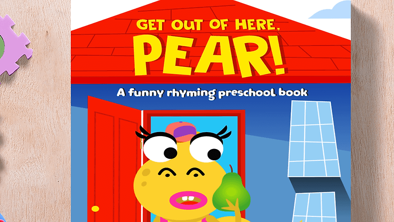 Get Out of Here, Pear! Book Lauch Party #1