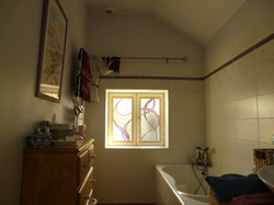 Vitrail Salle de Bain
