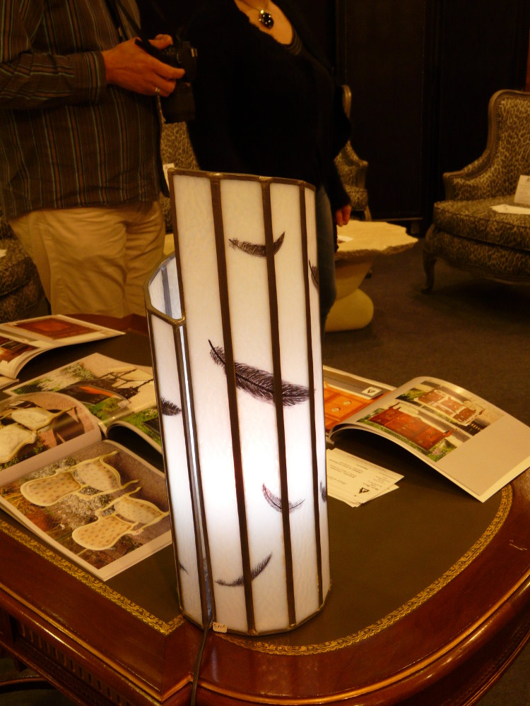 lampe tube plumes