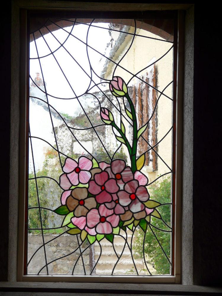 vitrail en bouquet