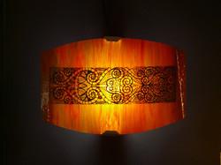Lampe mural vitrail (2)