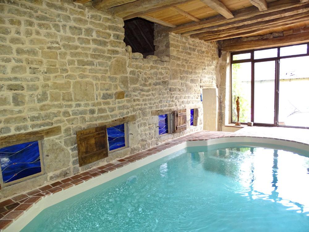 Vitraux piscine