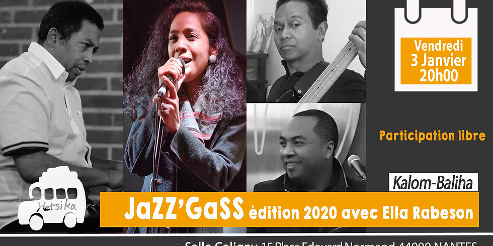 JaZZ'GaSS édition 2020 avec Ella Rabeson