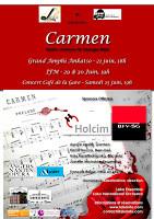 """"""" Carmen à Madagascar """" du 21 au 30 juin 2012"""