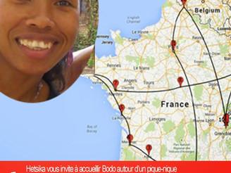 Hetsika & Florian accueillent Bodo à Nantes ce dimanche 7 septembre à partir de midi autour d&#3