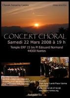 Antsan'ny lanitra, une chorale au répertoire varié et éclectique comme on aime...
