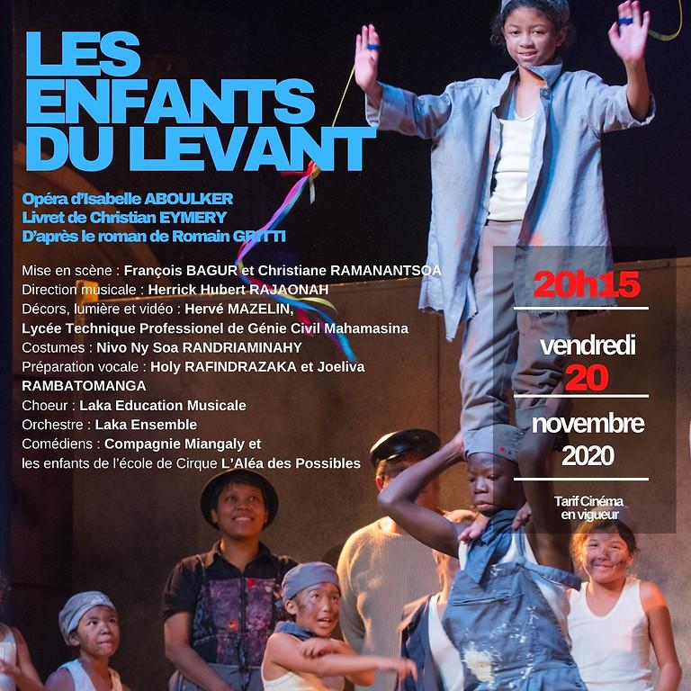 """Les Enfants du Levant d'I. Albouker - Projection-Débat dans le cadre """"Afrique en Loire"""" & """"Festisol"""""""