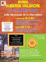 Auberge malgache chez ZaZa Tiana à Chevrolière le samedi 29 mars à partir de 19h30
