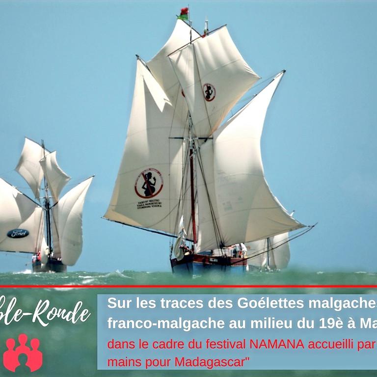 TABLE-RONDE: Goélette malgache: une coopération franco-malgache au milieu du 19è à Madagascar