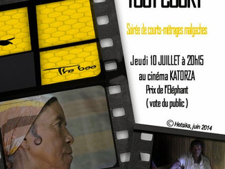 """Hetsika vous invite à """"MADA TOUT COURT"""" Soirée de Courts-métrages malgaches ce Jeudi 10 JU"""