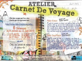 Offrez-vous un atelier de carnets de votre voyage à Madagascar ou ailleurs ...