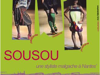 Sousou, une styliste malgache à Nantes ce mercredi 22 mai à 20h à Cosmopolis