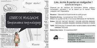 Lire, écrire et parler malgache à Nantes ...