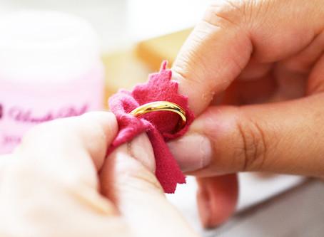 結婚指輪のお手入れ