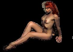 Jeune femme nue, héroïne dans la saga Les Mondes Mutants de l'auteure Christine Barsi, que ce soit dans La Passion de l'Arachnee ou Les Déviants Sacrés