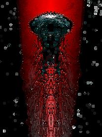 Argonaute mutant immense, mi-homme mi-mollusque, sorte de nautile humain surdimensionné aux multiples tentacules dans La Passion de l'Arachnee.