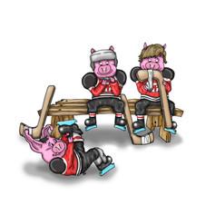 pigs gettig ready.jpg