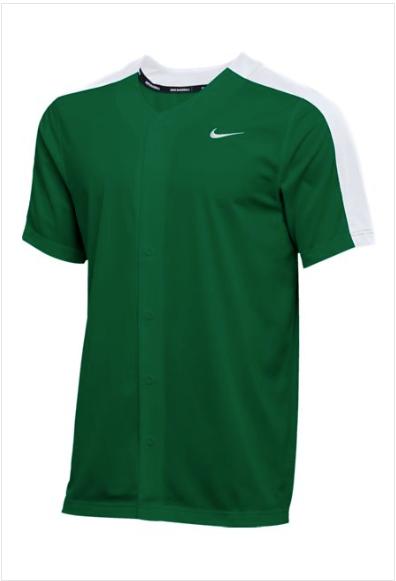 Men's Nike Stock Vapor Select Full Button Jersey