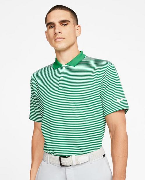NIKE Dri-Fit Victory Stripe Polo