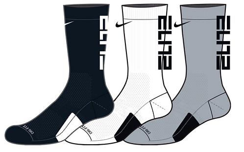 NIKE ELITE PERF. Crew Sock - 3 Pack