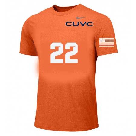 MEN'S AND WOMEN'S Orange Jersey