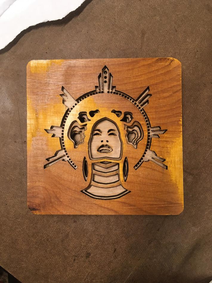 Intro To Fab   Week 3   Beyoncé Wood Sculpture
