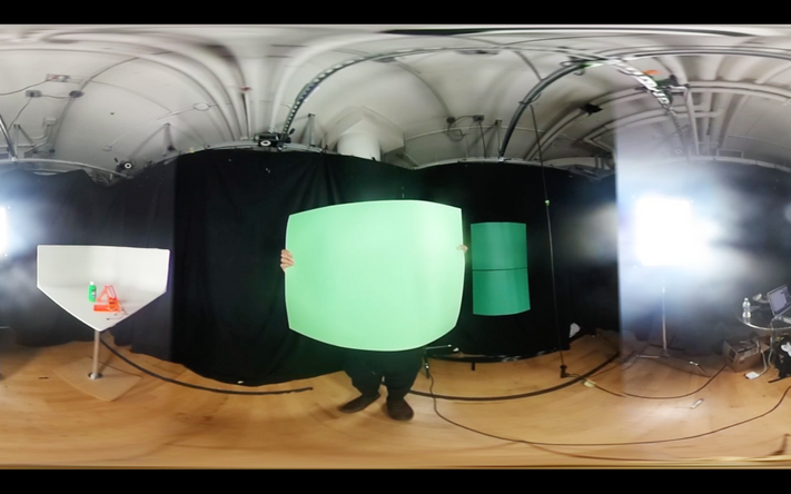Open Source Cinema | Setting | 360/VR Cut Experiments