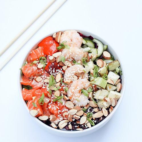 Protein Bomb Poke Bowl / Sporcu Poke Kasesi