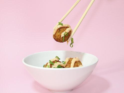 Çıtır Yengeç Topları / Crunchy Crab Bites