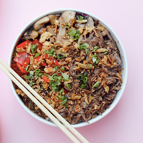 Kaburga Poke Bowl / Meat Poke Bowl
