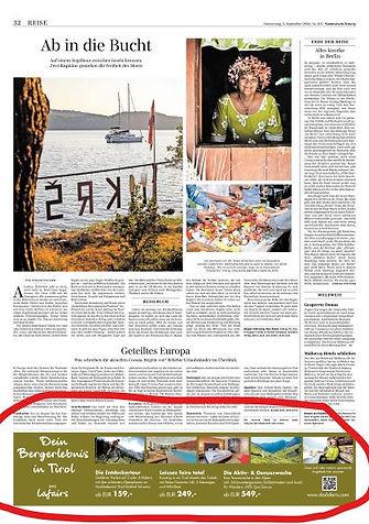 Sueddeutsche Zeitung Inserat Lafairs