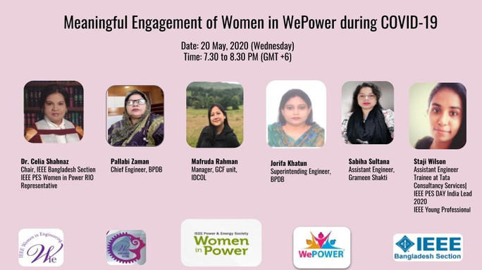 Meaningful Engagement of Women in WePower during COVID-19