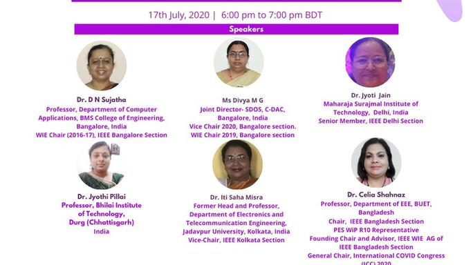 Women in Engineering Tech Meetup Online Webinar Series