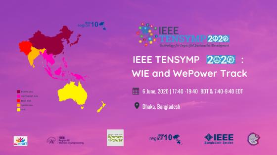IEEE TENSYMP 2020: WIE and WePower Track