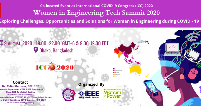 WIE Tech Summit 2020 Exploring Challenges, Opportunities and solutions for WIE during COVID-19