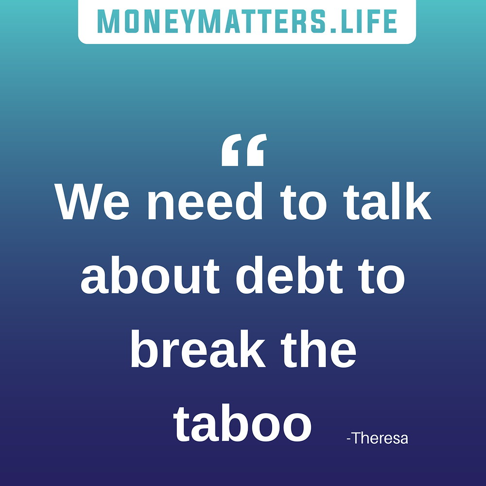 We need to talk about debt to break the taboo
