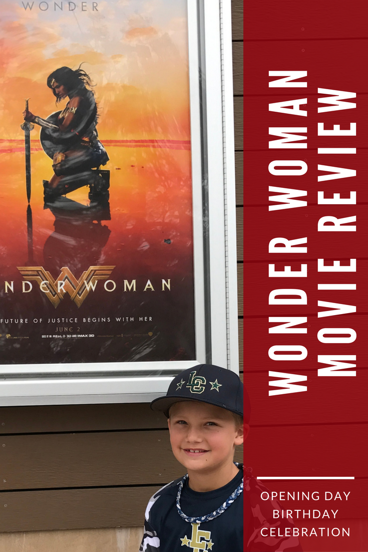 Wesley with Wonder Woman poster