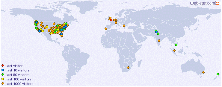 where people are reading my blogs
