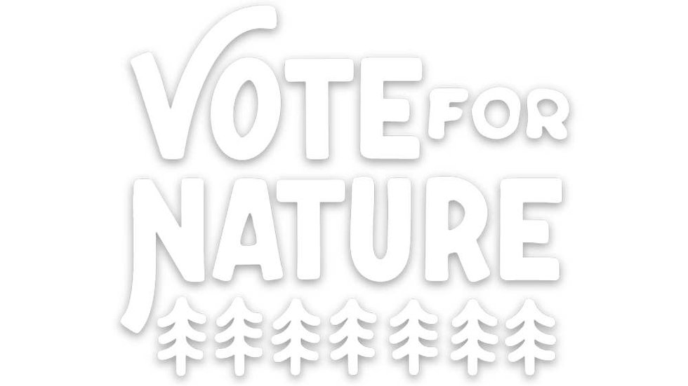 Vote For Nature Sticker