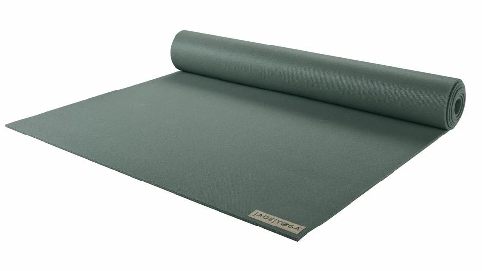 "Jade Harmony Yoga Mat in Jade Green 68"""