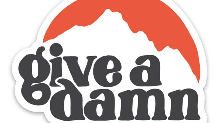 Keep Nature Wild // Give A Damn Sticker