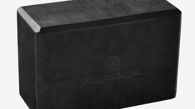 Recycled Foam Yoga Block - Hugger Mugger in Black
