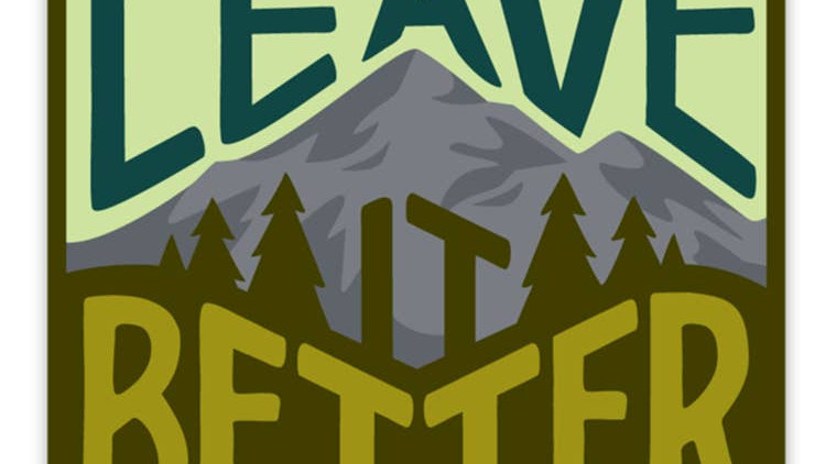 Keep Nature Wild // Leave it Better Sticker