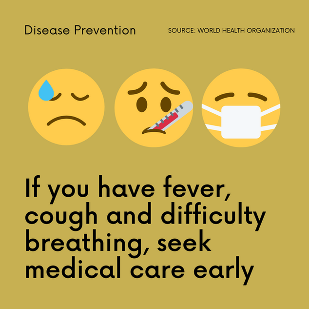 Runa Coronavirus fever cough seek care